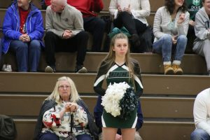 Cheerleading- District Semis vs Church Farm 2/21/19