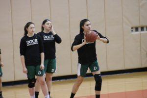 Girls Varsity Basketball vs Sacred Heart-District Finals 2/23/19