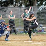 Girls varsity softball starts season with a win