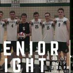 Boys Volleyball Senior Recognition