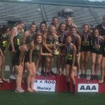 Girls Track and Field brings home fifth District Crown