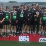 Boys Track and Field repeats to bring home fourth District Crown