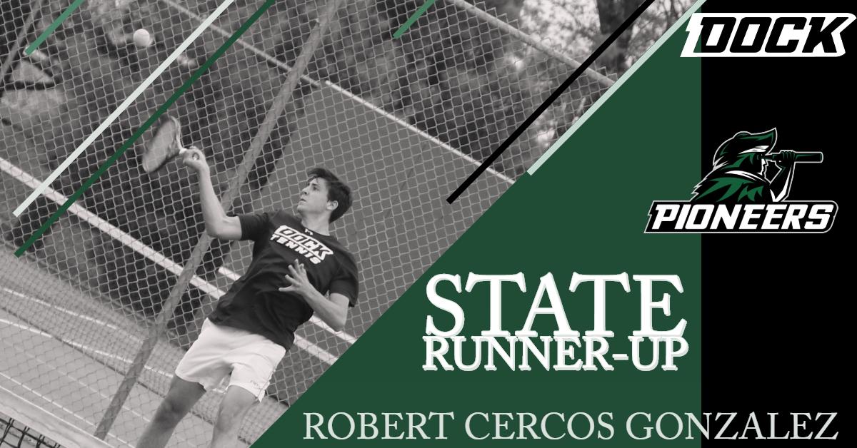 Robert Cercos Gonzalez State Runner-Up
