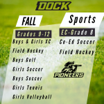 DOCK MENNONITE ACADEMY PIONEERS – FALL SPORTS