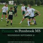 Middle School Soccer to play on HS Campus