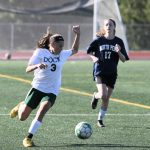 Coed Middle School Soccer falls to Pennridge South Middle School