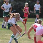 Girls Middle School Field Hockey falls to Strayer Middle School