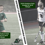 Dock to host District 1 A Quarter-Final Double Header