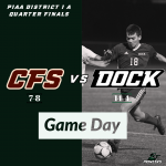 Game Day: Boys Varsity Soccer vs Church Farm School PIAA District I Quarter Finals