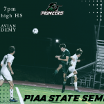 Boys Varsity Soccer pioneers on to State Semi-Finals