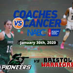 Boys and Girls Basketball Coaches vs Cancer Night 1/30/20