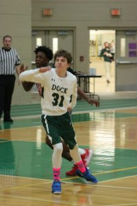Boys Junior Varsity Basketball vs Bristol 1/30