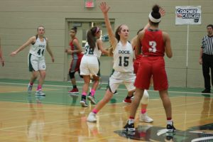 Girls Varsity Basketball vs Bristol 1/30
