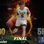 Pioneers Boys V Basketball Wins Close Game Over Calvary Christian