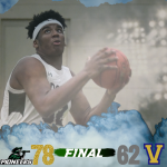 Boys Varsity Basketball beats Valley Forge Military (BAL Playoffs First Round) 78 – 62