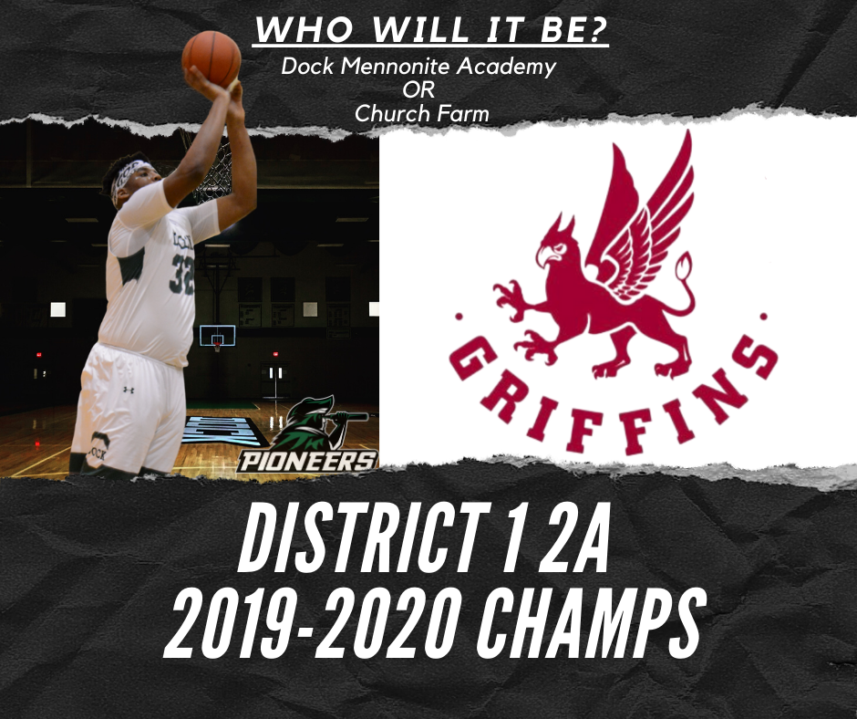 Boys Varsity Basketball heads to District 1 2A Finals