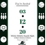 2019-2020 Winter Athletic Awards Night