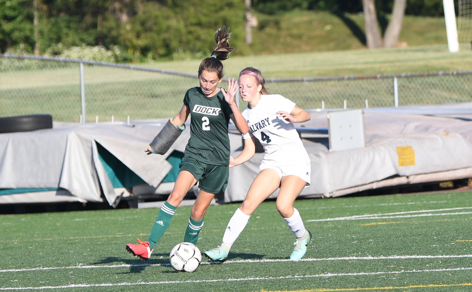 Girls Soccer Beats Calvary Christian Academy 2 – 1