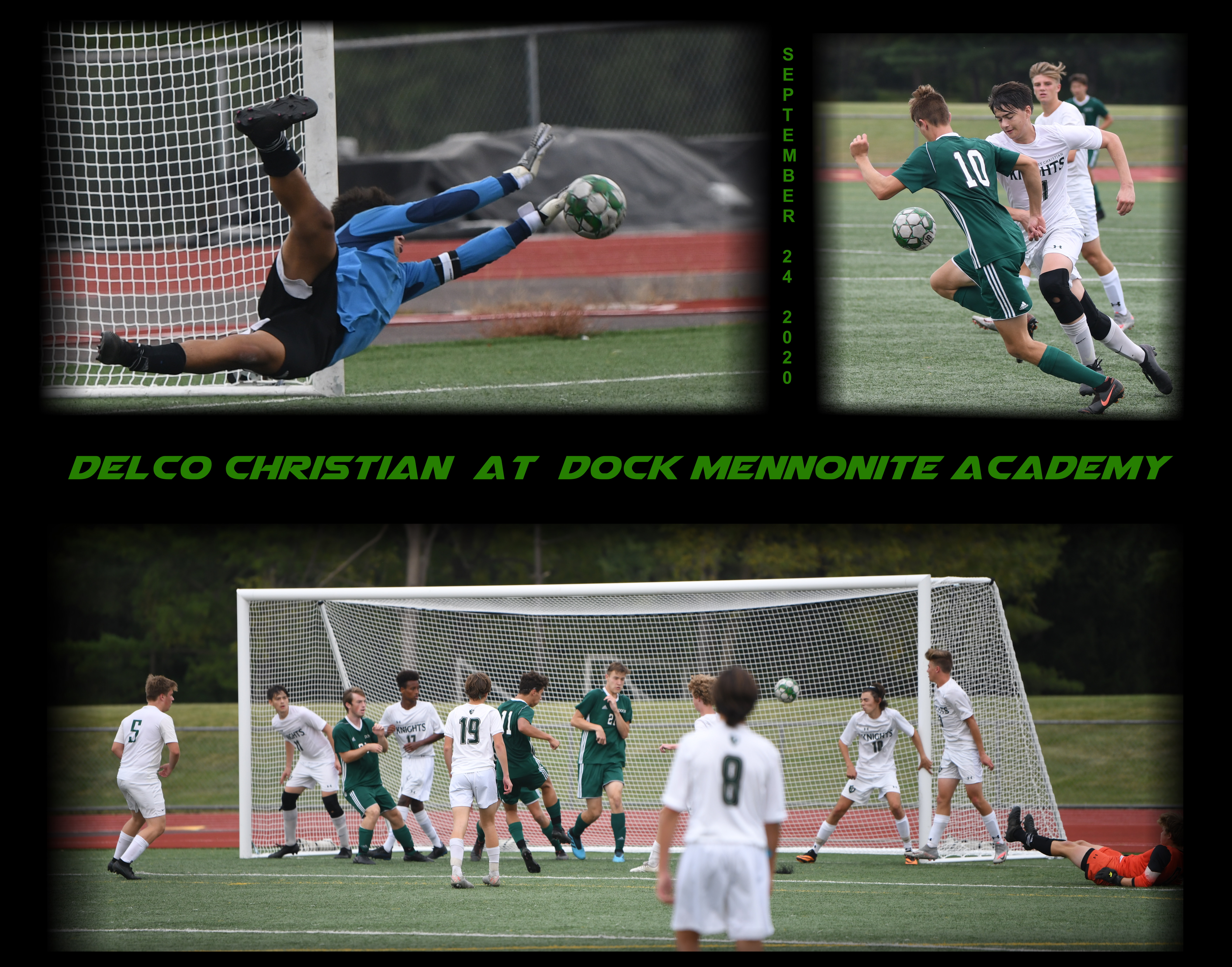 Bookend Scoring For Dock In Win Over Delco