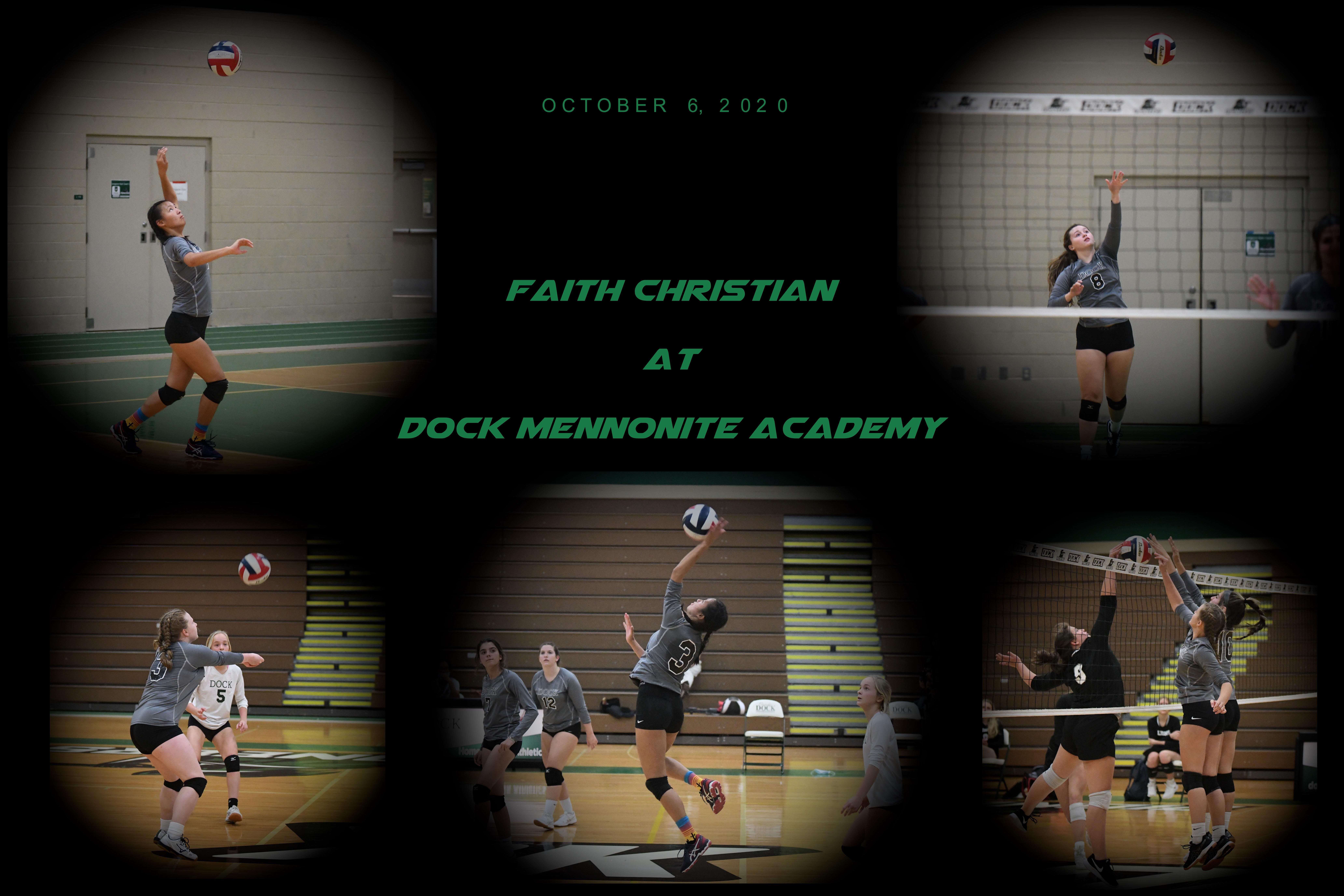 Dock vs Faith Christian – (Varsity) – October 6, 2020