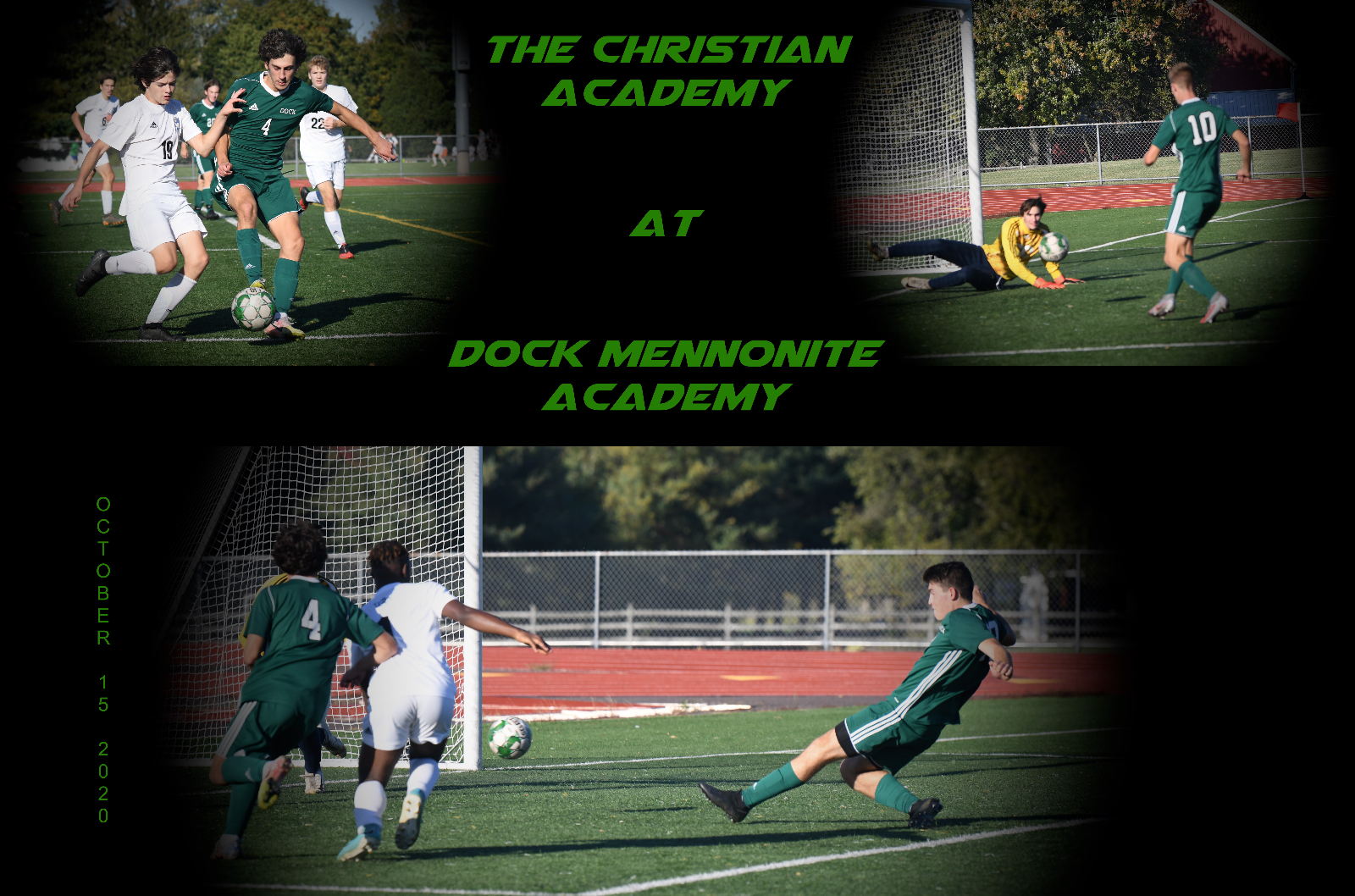Dock vs The Christian Academy – October 15, 2020
