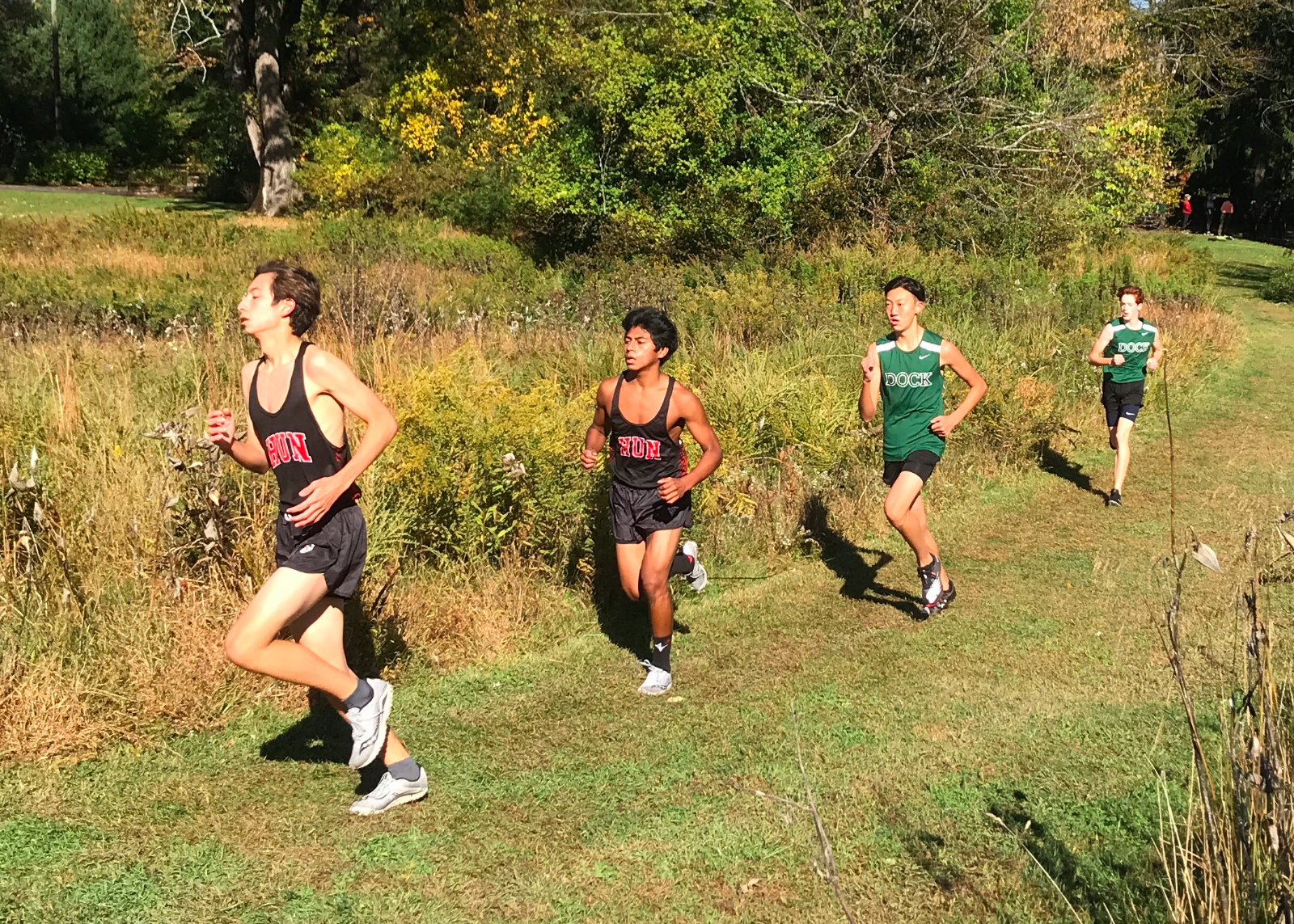 Mile 1/2 Dock Boys XC vs. Hun @ Princeton-2020Oct17