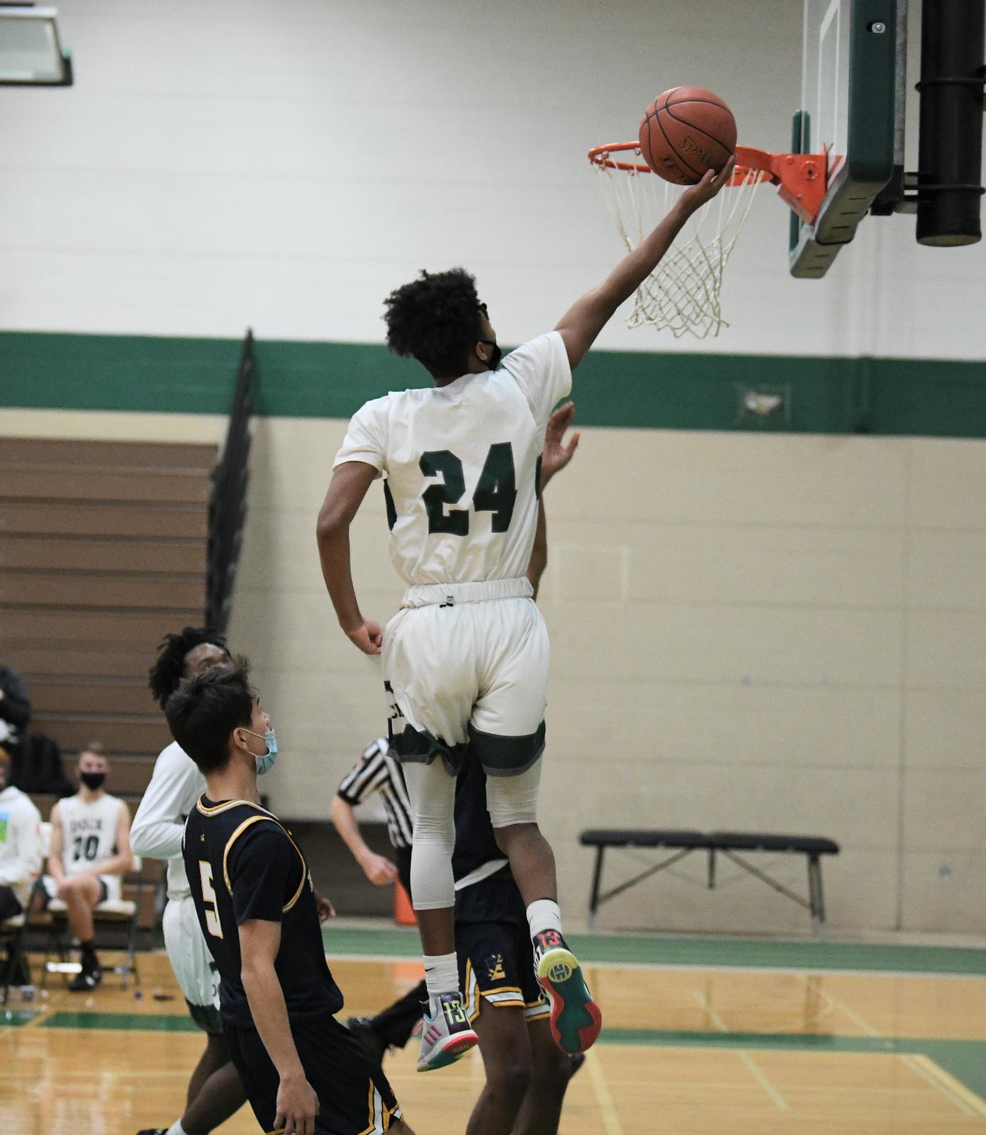 Boys Varsity Basketball beats Philadelphia Montgomery Christian Academy 56 – 45