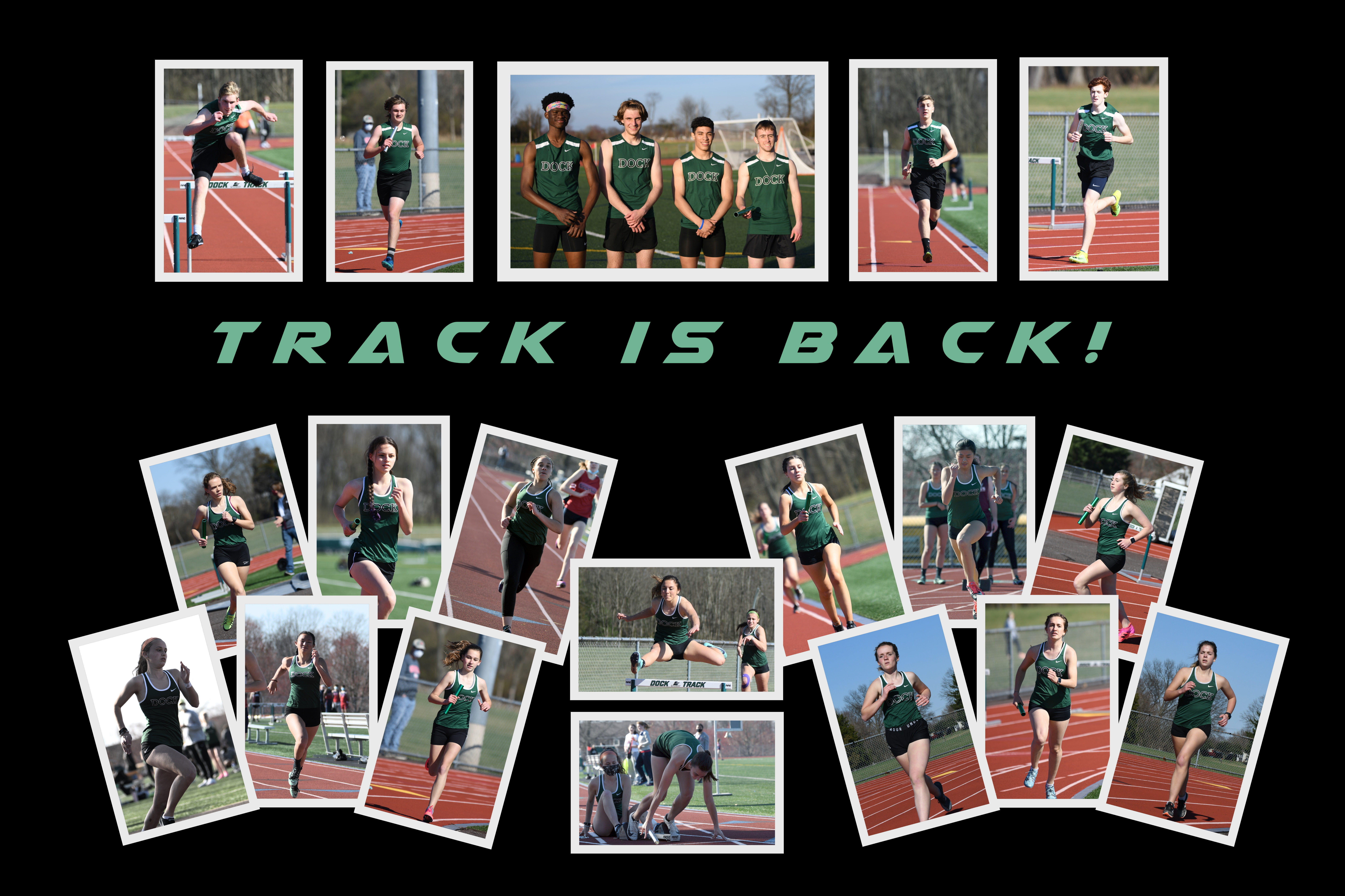 Dock Track Meet (Part I) – March 30, 2021
