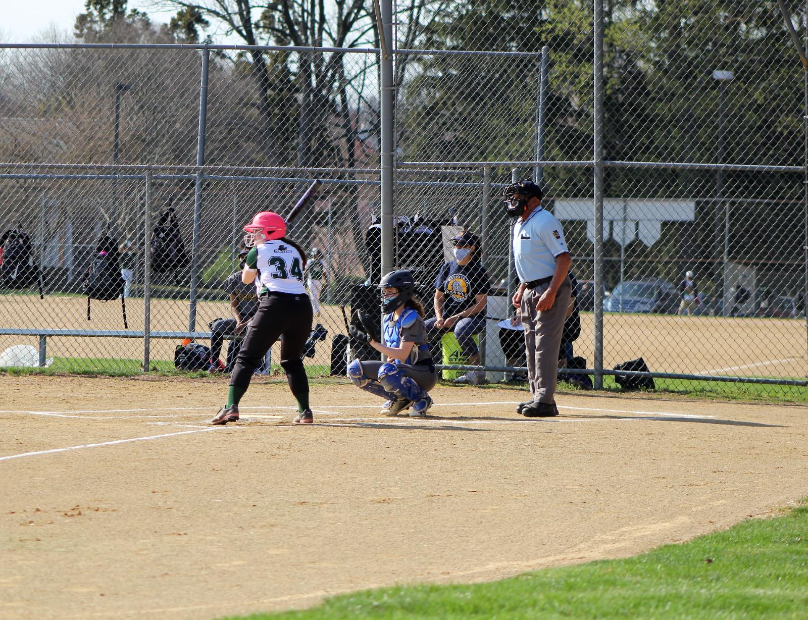 Girls Softball vs Morrisville 4/8/2021 (sfp)