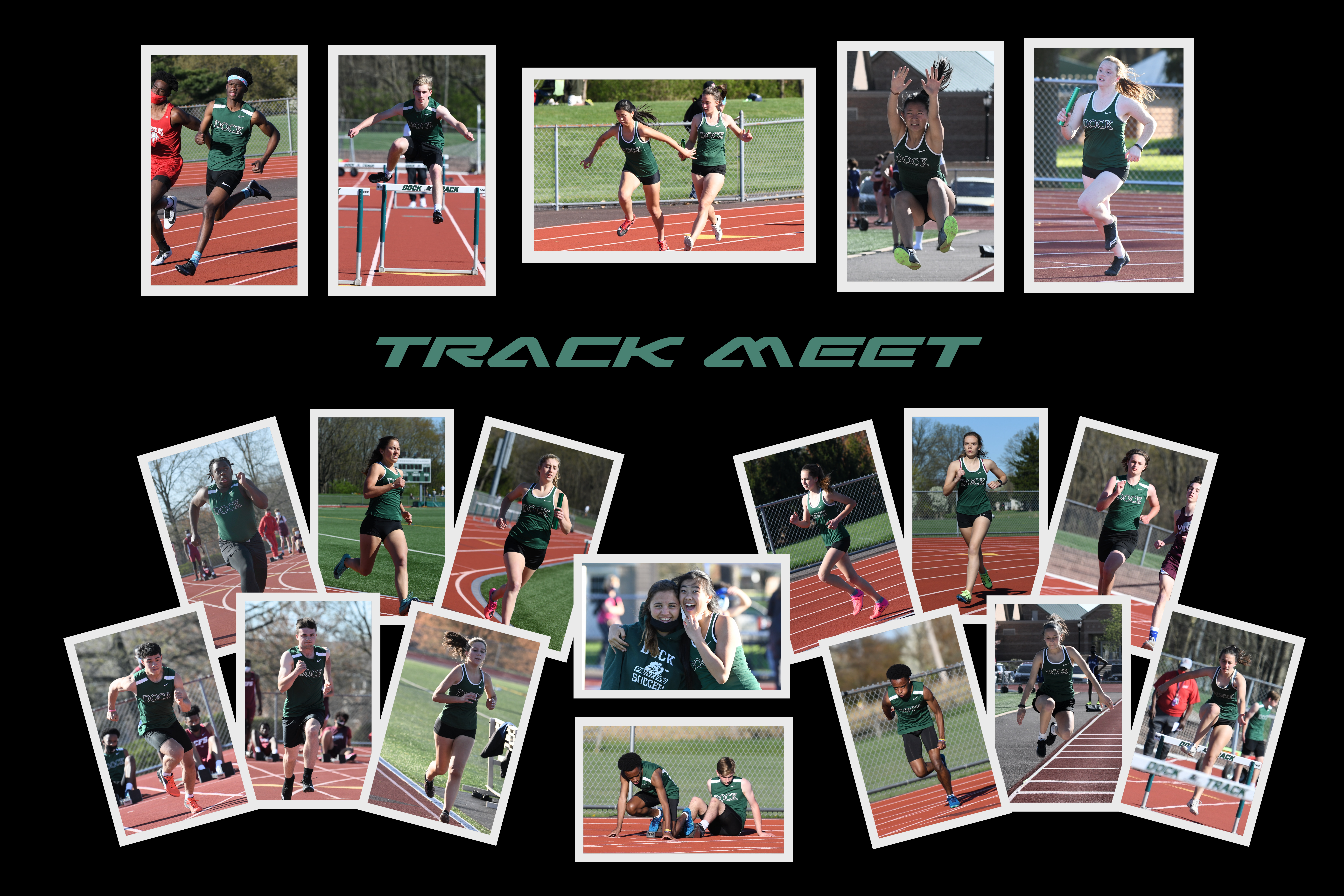 Dock Track and Field Wins Against Six BAL Opponents