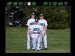 Baseball Senior Night - May 10, 2021