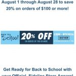 Back to School Sale at GC Team Store!