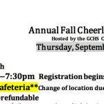 Fall Cheerleading Clinic!