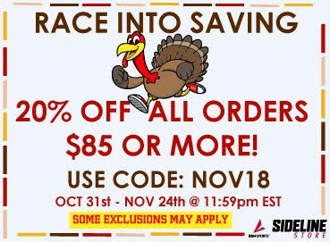 Thanksgiving Sideline Store Sale!