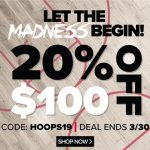 Sideline Store – March Sale!