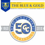 """""""The Blue and Gold"""" – GCHS Athletics Newsletter"""
