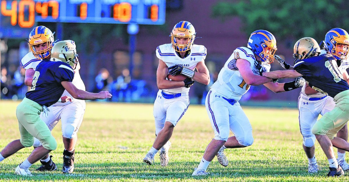 Cougars catching up fast, shut down Golden Bears – GDR Sports: Staff Report