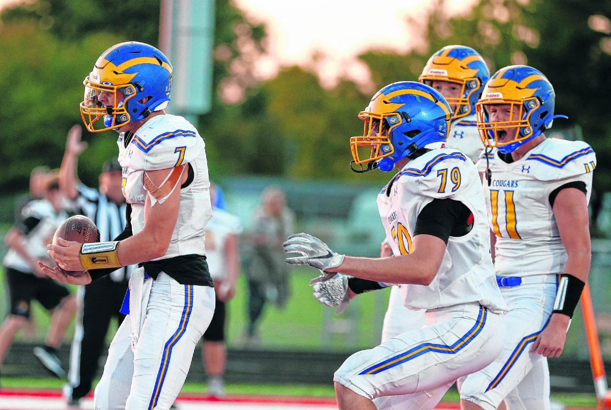 Running Straight Ahead: G-C Cougars eyeing revenge, ground control against Arabians – GDR Sports: Rich Torres