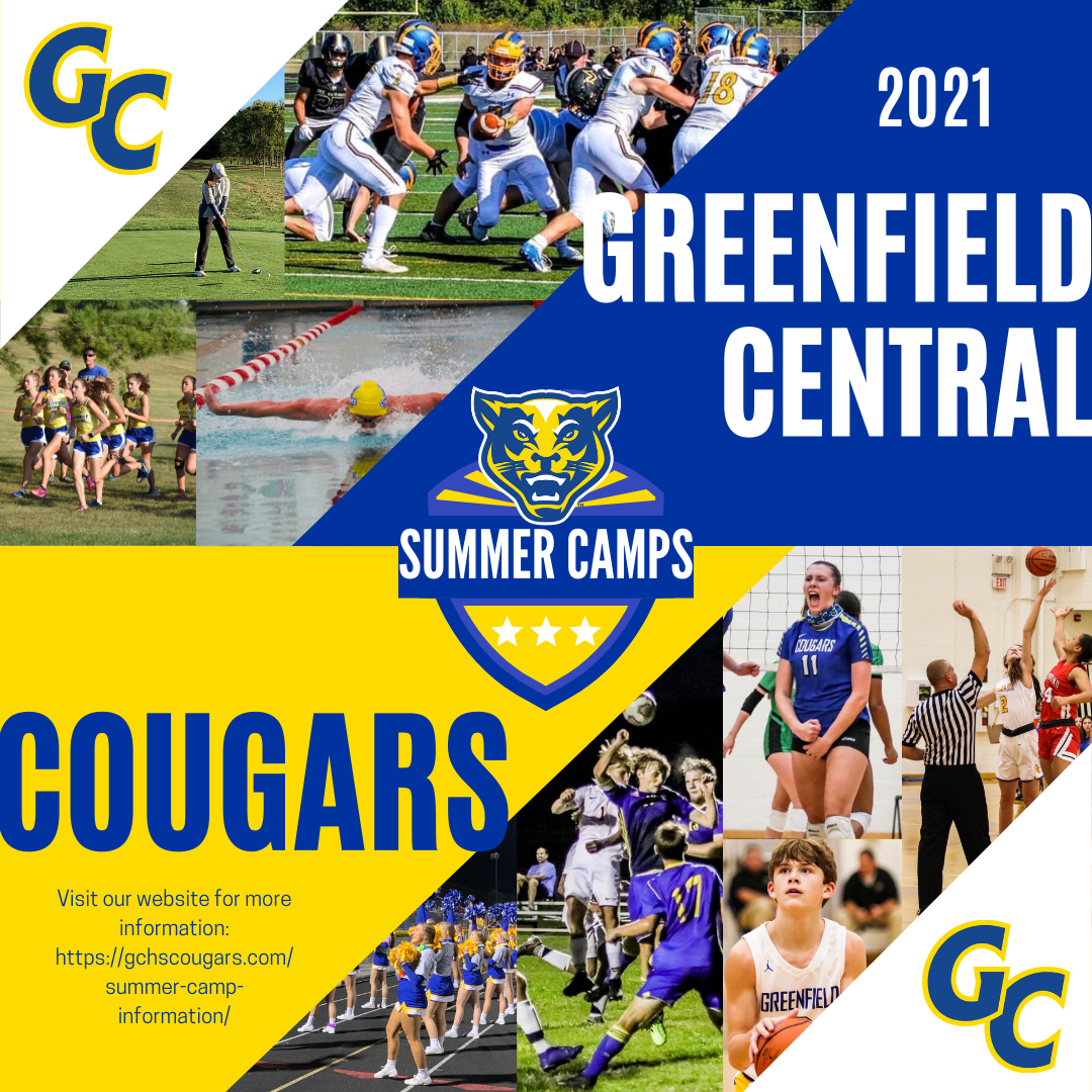 GCHS Summer Youth Camps – 2021