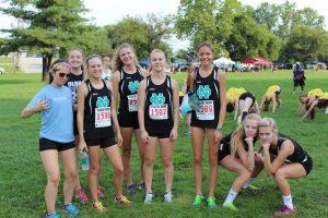 Girls Cross Country 2014