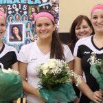 North Oldham Celebrates Three Volleyball Seniors