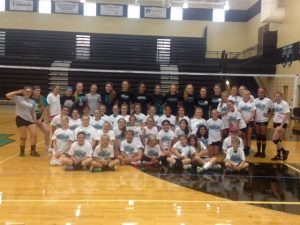 NOHS Volleyball Camp