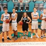 Basketball Teams Make 3's for Charity