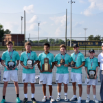 Boys Tennis Win Region Title