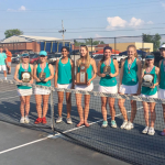 Girls Tennis are Regional Runner-Up