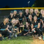 North Oldham High School Varsity Softball beat South Oldham High School 9-0