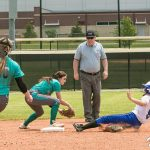 North Oldham High School Varsity Softball falls to Simon Kenton High School 3-2