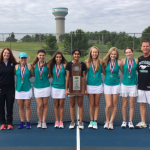 Girls Tennis Team are State Runner Up