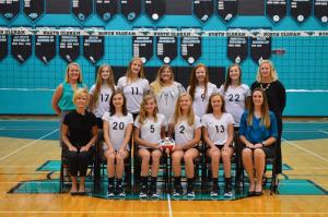 2017 Freshman Volleyball Team