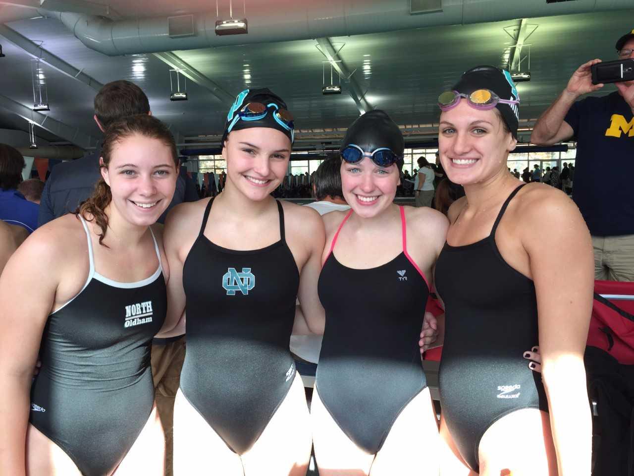 Girls Swim Win Eastern Meet
